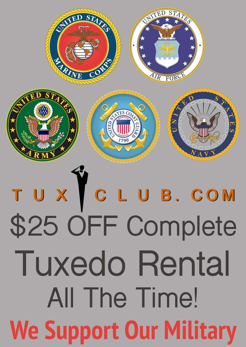 military discounts $25 off