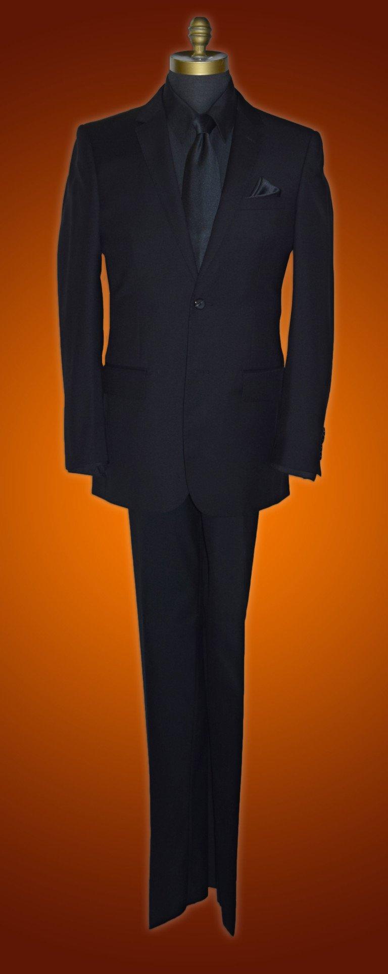 All Black Tuxedo