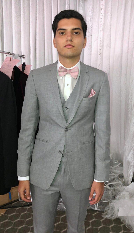 Gray Wedding Suit
