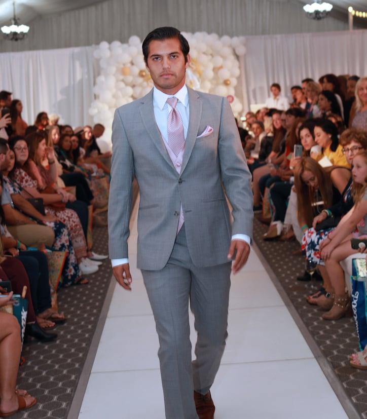 Light Gray Mens Wedding Suit, TuxClub.com