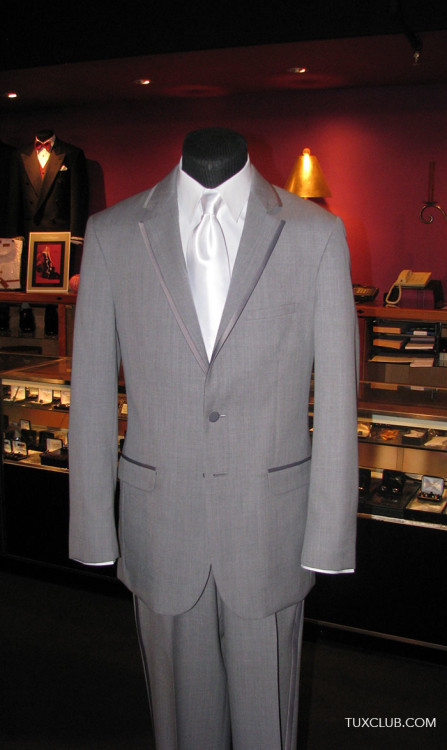 Gray Tuxedos and Suits