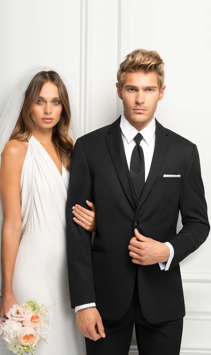 Black Wedding Suit