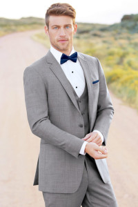 New Light Gray Suit - Slim Fit - 3 Piece Available
