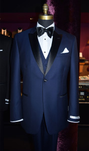 Blue Tuxedo Slim Fit