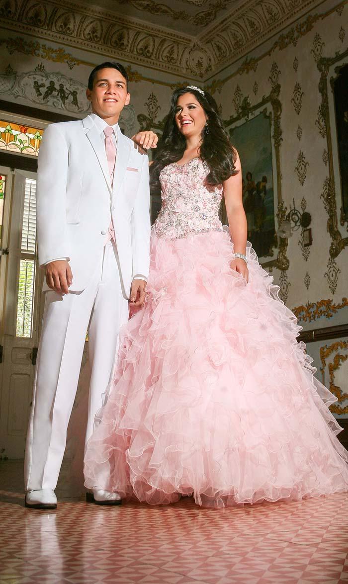White Wedding or Quincenera Tuxedo