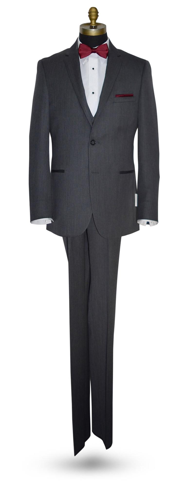 Michael Koors Slim Fit Charcoal Suit