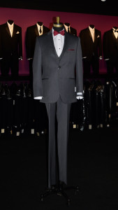 New Michael Kors Slim Fit Charcoal Suit