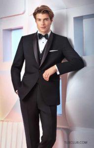 Black Shawl Collar Tuxedo