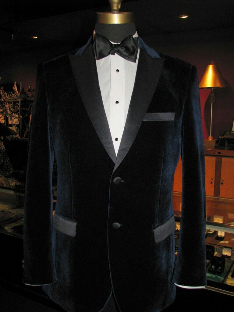 Black Velvet Tuxedo