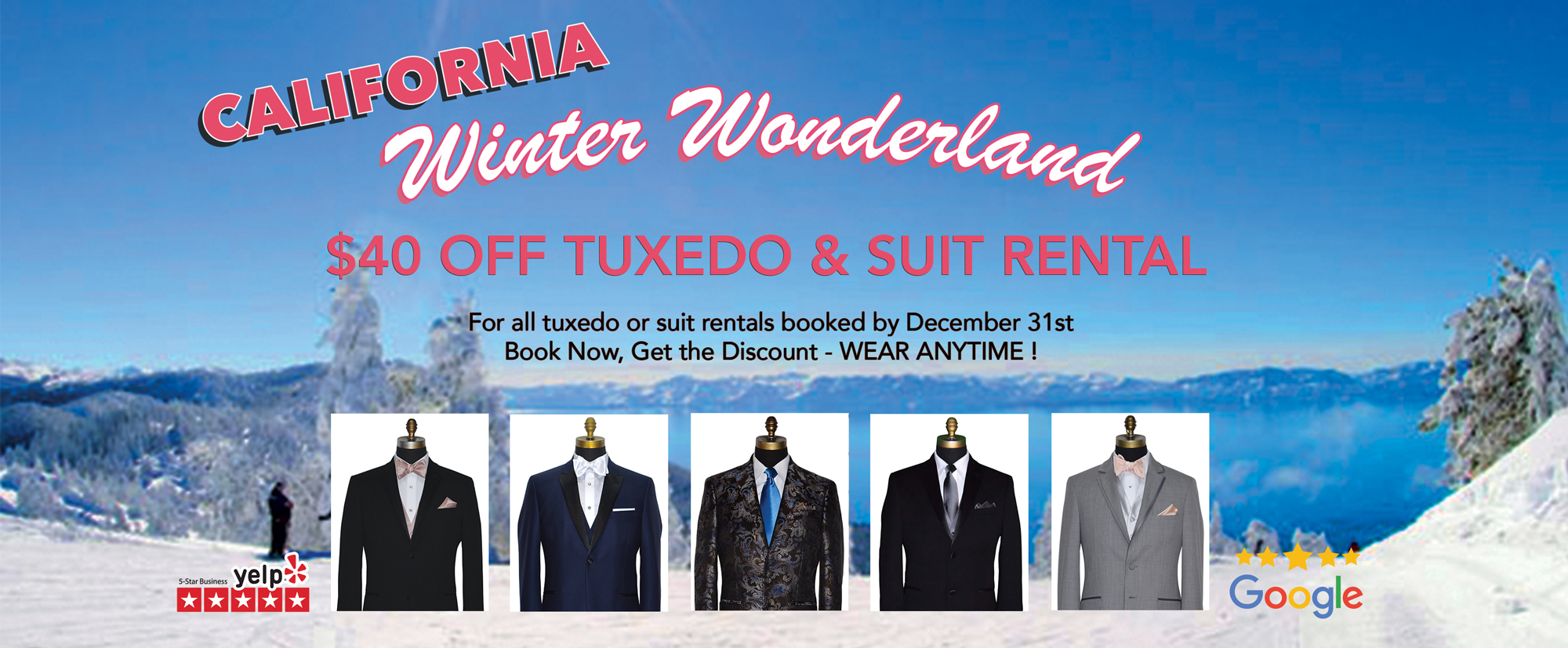 Winter, Christmas Tuxedo Promotion