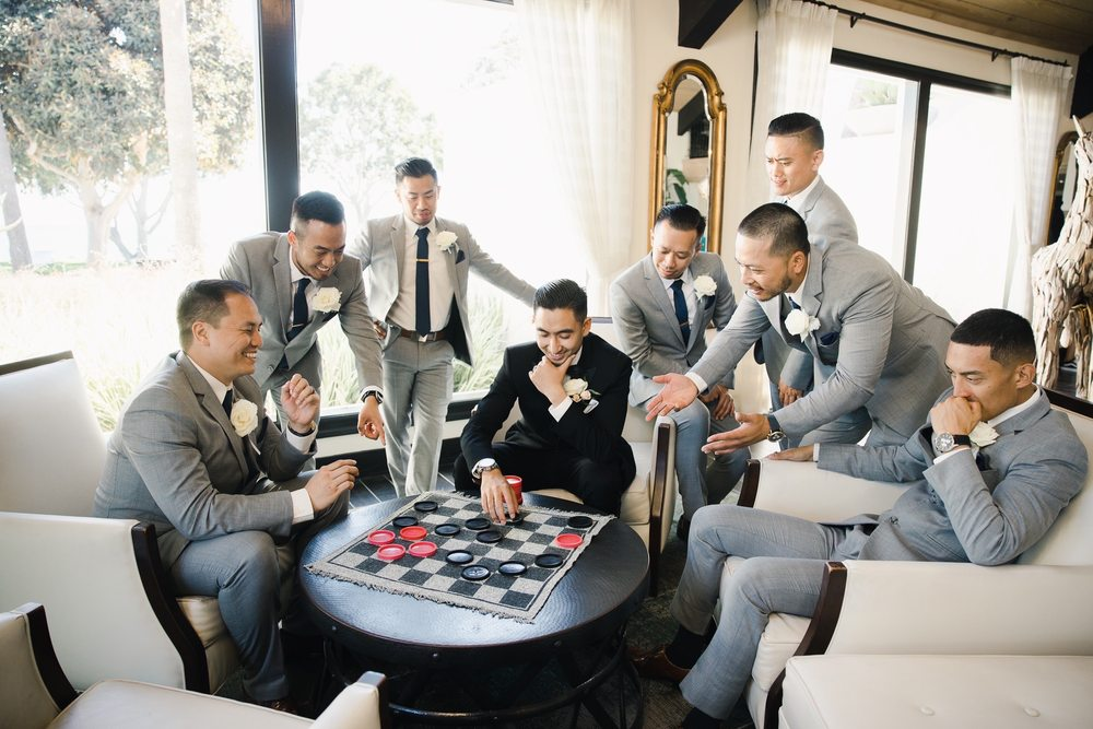 Groomsmen Tuxedos and Suits