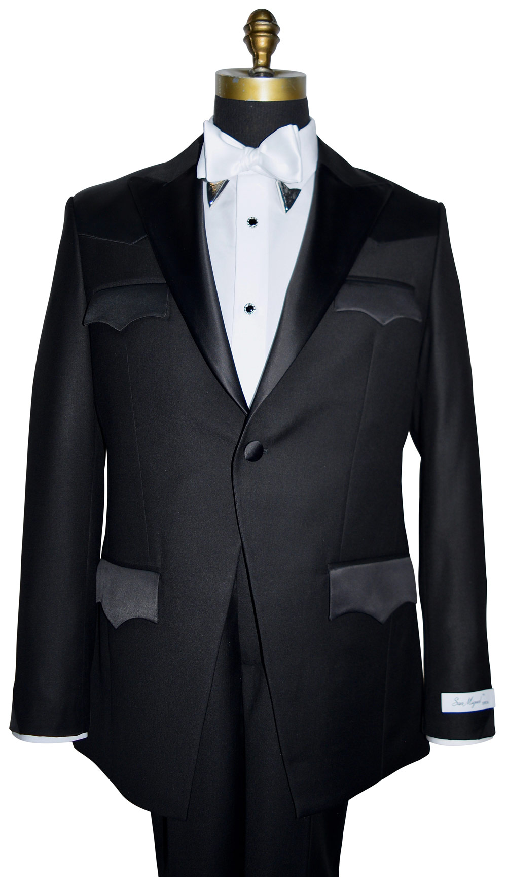 Western Tuxedo With Short Coat