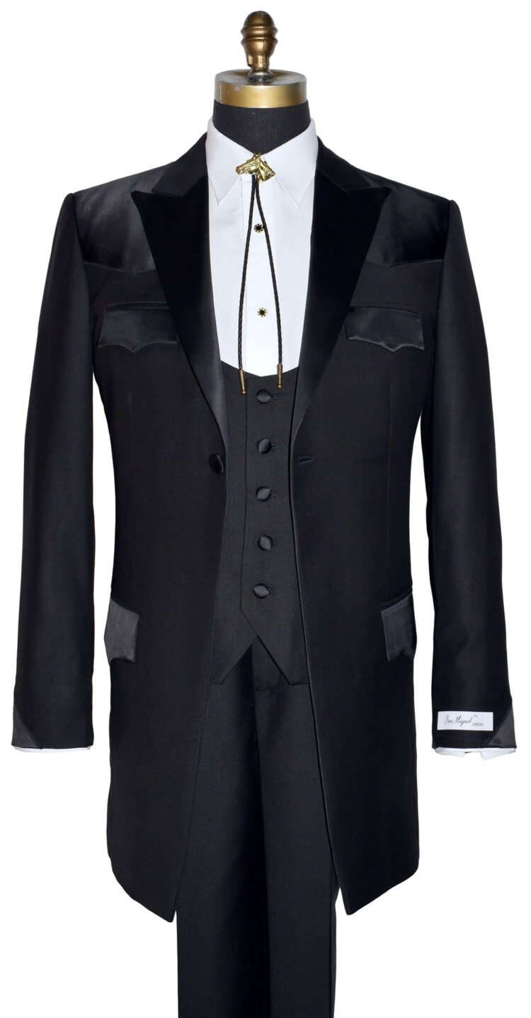 Western Tuxedo With Long Coat