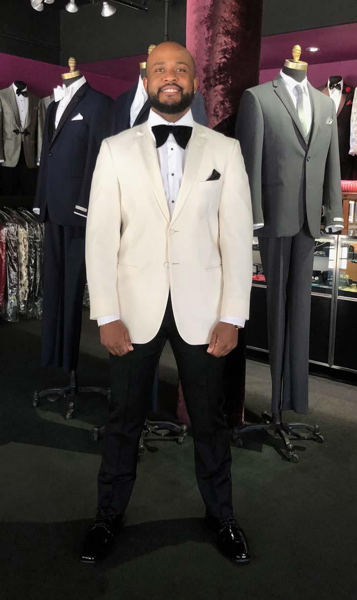 Ivory Notch Lapel Tuxedo